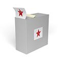 Etiketten in der Spenderbox bestellen