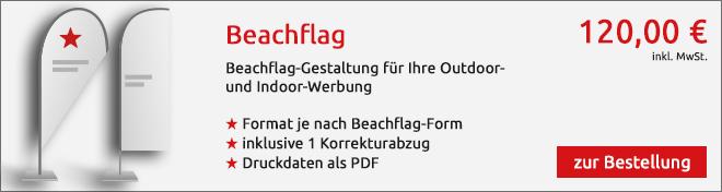 Beachflag Angebot