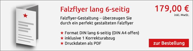 Falzflyer Angebot