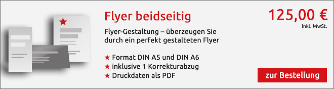 Flyer Angebot