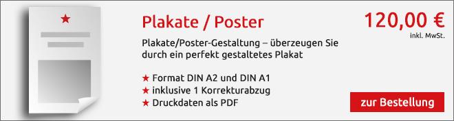 Plakat Angebot