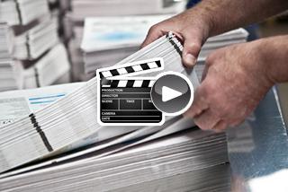 Video zu Broschüren Rückendrahtheftung