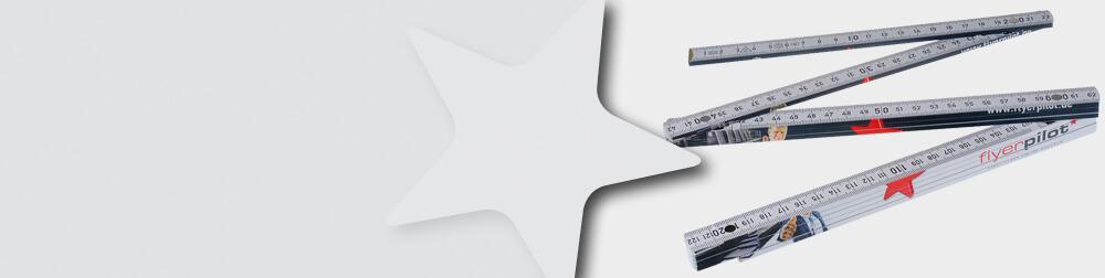 Zollstock aus Kunststoff konfigurieren und Bestellen