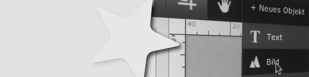 Online-Tool zur Gestaltung von Kundenstopper
