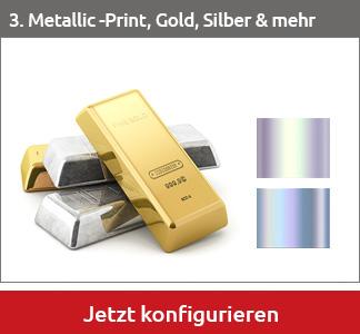 Metallic-Print-Etiketten